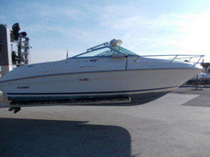 SEA RAY - 215 EC - CABINE
