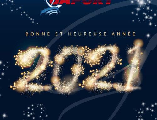 Toute l'équipe Gaport vous souhaite une bonne et heureuse année 2021 !