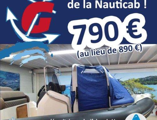 Nouveau tarif pour la Nauticab !