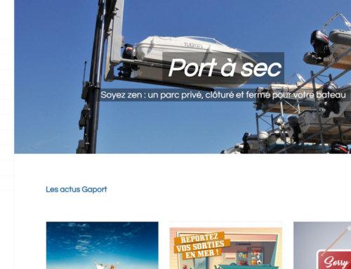 Nouveau site Internet Gaport